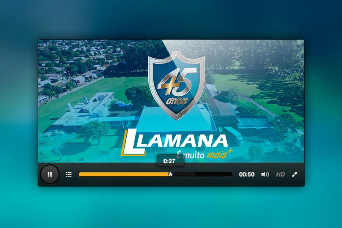 Lamana celebra seus 45 anos com um vídeo institucional.