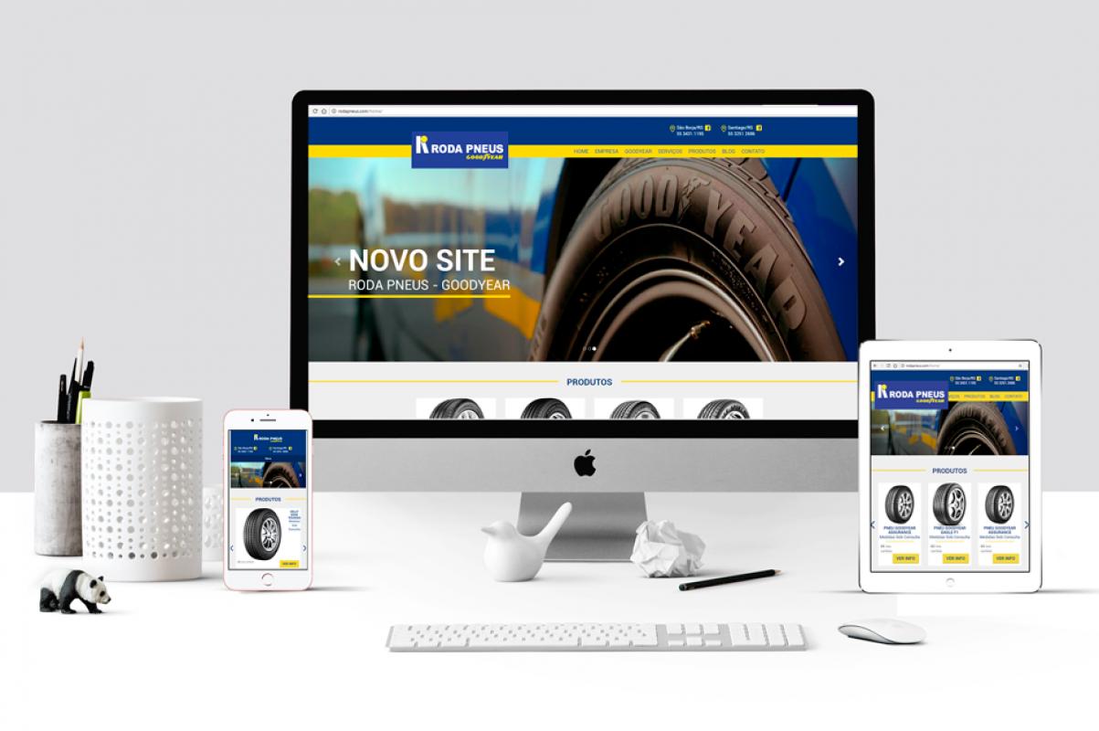 Novo Site Roda Pneus Goodyear